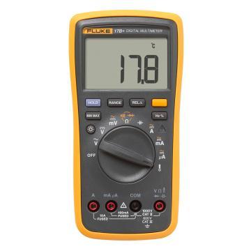 福禄克/FLUKE 数字万用表,标配热电偶测温,FLUKE-17B+ CHINA