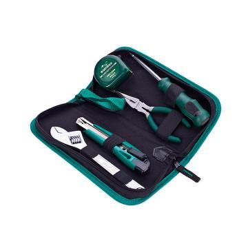 世达 基本维修工具组套,5件套,06002,多功能工具套装 家庭维修工具套装 工具套装套