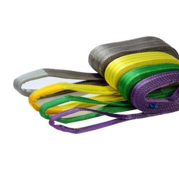 耶鲁扁吊带,桔色,10T 6m