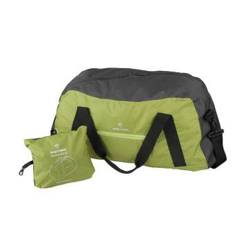 MASCOMMA 旅行/運動折疊收納包, BS00103/GGY 中號 (綠灰) 單位:個