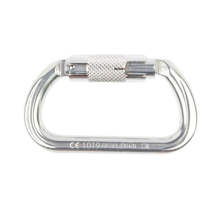 代尔塔DELTAPLUS D型钩,508014,AM014轻合金自锁 17mm