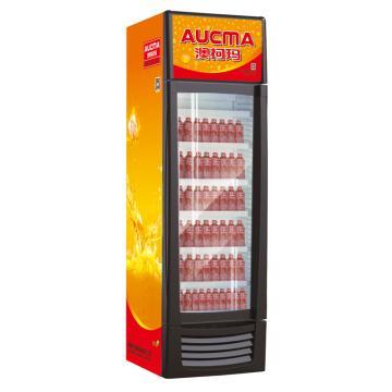 单门冷藏立式饮料柜(高端),澳柯玛,SC-388,0-10℃,660*700*2230