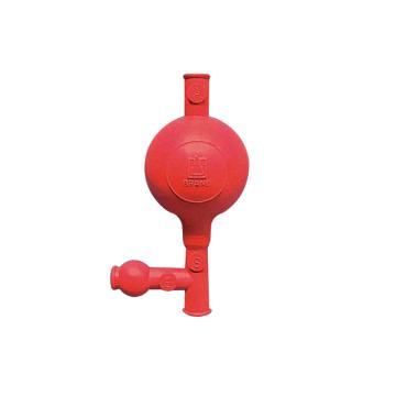 通用洗耳球,三阀,天然橡胶材质,标准型,最大量程至10ml移液管