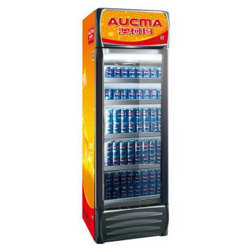 单门冷藏立式饮料柜,澳柯玛,SC-386C,0-10℃,660*700*2130