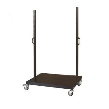 信高 移动型物料架立柱+底盘(含脚轮),三层,960*610*1560mm,KM-2300,散件发货,安装费另询