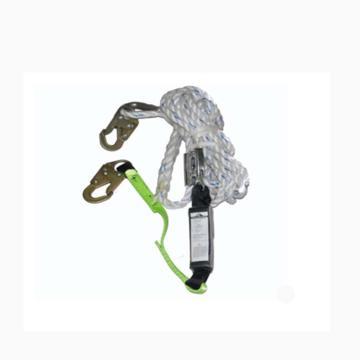 带缓冲包绳自锁器/适合16毫米安全绳用抓绳器,10米