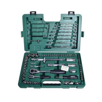 世达综合工具套装,78件套,09518