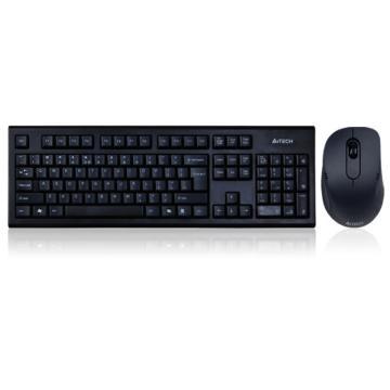 双飞燕 A4tech 无线键鼠套装 7100N (黑色)