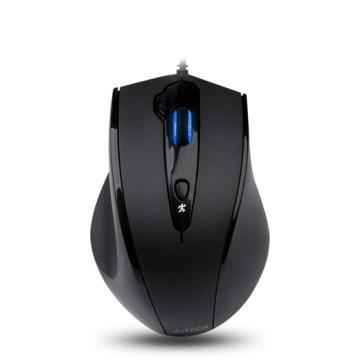 双飞燕 A4tech 有线鼠标 N-810FX  USB (黑色)