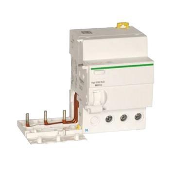 施耐德 电子式剩余电流动作保护附件,Acti9 Vigi iC65 ELE 3P 63A 30mA AC-type,A9V59363
