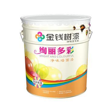 金钱树 绚丽多彩哑光外墙乳胶漆,型号:JS3500,20kg/桶