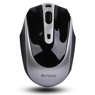 双飞燕 A4tech 无线鼠标 G11-580FX 可充电 (银黑色)