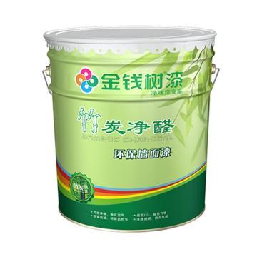 金钱树 竹炭净醛乳胶漆,型号:JQ1408,20kg/桶