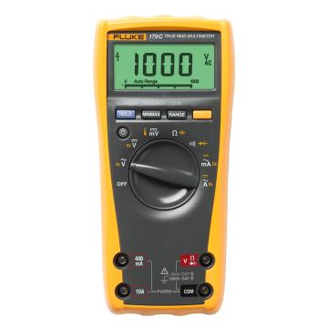 福禄克/FLUKE 数字万用表,真有效值,标配热电偶测温,FLUKE-179/CN