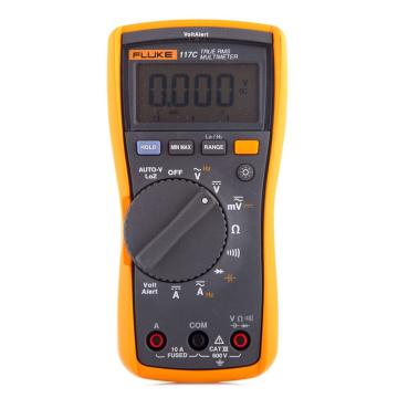 福祿克/FLUKE 數字萬用表,真有效值,非接觸式電壓測量,FLUKE-117C