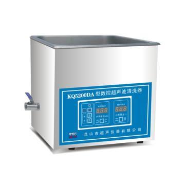 台式数控超声波清洗器,KQ5200DA,舒美,10L
