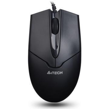 双飞燕  A4tech 有线鼠标 OP-550NU USB(黑色)