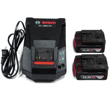 博世电池套装,2电1充套装14.4V/2.0Ah,1600A001AE
