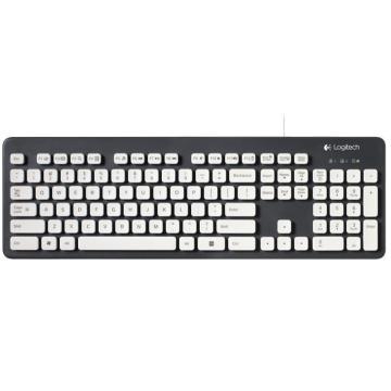 罗技 Logitech 有线键盘(可水洗) K310 USB
