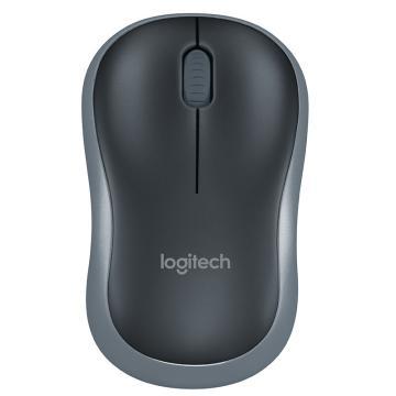 罗技 Logitech 无线鼠标 M185 (黑色)