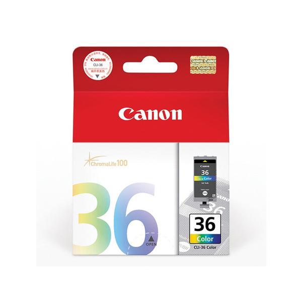 佳能 墨盒,彩色CLI-36(適用PIXMAiP100) 單位:個
