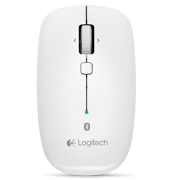 罗技 Logitech 蓝牙无线鼠标 M558(白色)