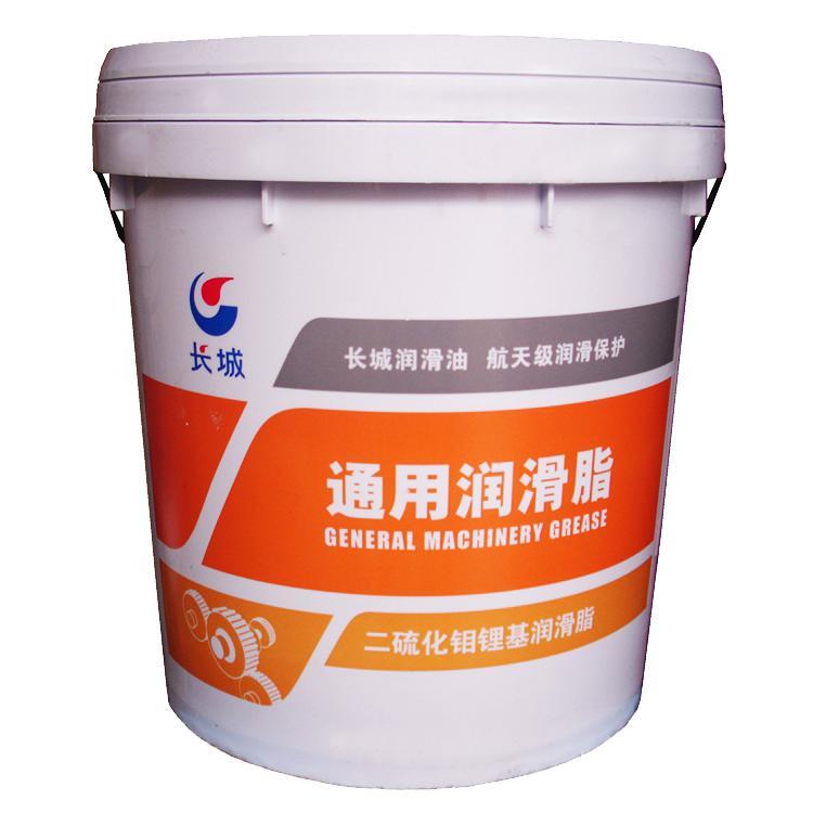 長城 潤滑脂,尚博二硫化鉬 通用 鋰基脂 3 號,15kg/桶