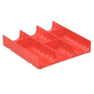 信高 塑料分类槽,3格