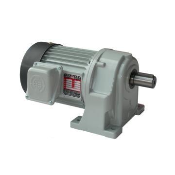 利茗 齿轮减速电机,卧式安装,减速比1:5,0.2KW,附刹车