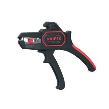 凯尼派克 Knipex 剥线钳,自调试型,12 62 180