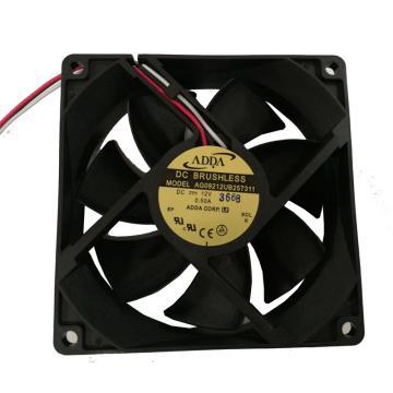 ADDA 散热风扇 AG09212UB257311,DC12V,0.5A