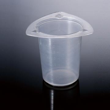 三角量杯,100ml,PP,耐高温高压,三处倾倒口,在循环使用或者一次性使用,25个/袋,4袋/箱