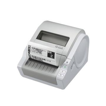 兄弟 热敏电脑标签打印机,TD-4000 适配RD耗材 单位:台