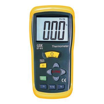 热电偶测温仪,华盛昌 温度表,DT-612