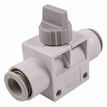 SMC 3通热塑球阀,VHK3两端插管型,带L型托架,8*6