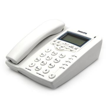 飞利浦 TD-2815  电话机  白色