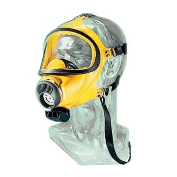 MSA 3S 宽视野全面罩,硅胶材料,D2055718-CN