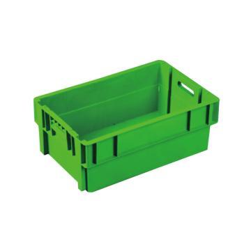 环球 反转套叠平底箱,尺寸(mm):600X400X230,绿色