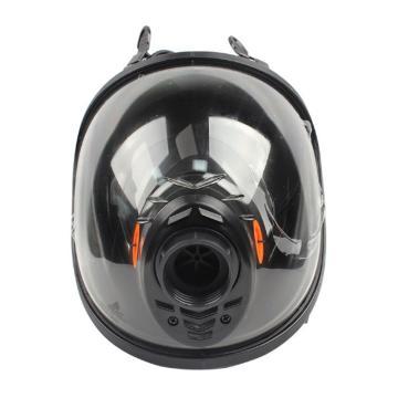 代尔塔 M9300 STRAP硅胶全面罩,单滤罐,105008