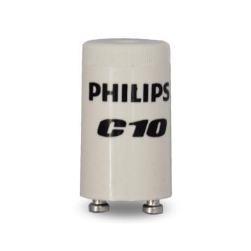 飛利浦 熒光燈啟動器 啟輝器,C10 用于單支管220-240V 4-65W,單位:個