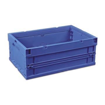 环球 可折叠周转箱,尺寸(mm):600*400*243,蓝色