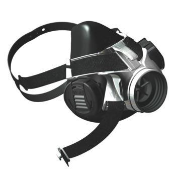 梅思安MSA 半面罩,10146379,Advantage 优越410半面罩 硅胶 中号
