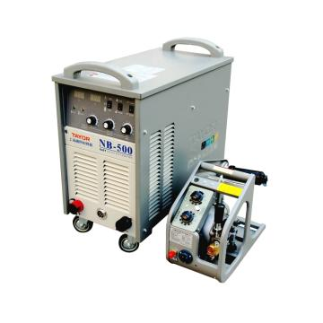 上海通用NB-500逆变式半自动气体保护焊机套机,380V电源适用,气保焊手工焊两用机