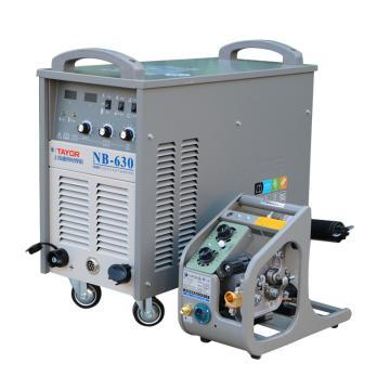 上海通用NB-630逆变式半自动气体保护焊机套机,380V电源适用,气保焊手工焊两用机