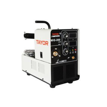 通用逆变式气体保护焊机,MIG200D,含QTB160A气保焊枪1套、接地线1套、CO2减压器1只、3米网管一根