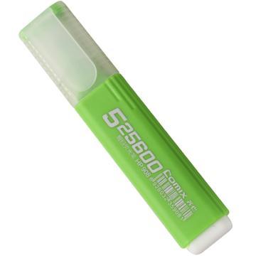 齐心 荧光笔, 醒目,绿,10PCS/盒HP908 单位:盒