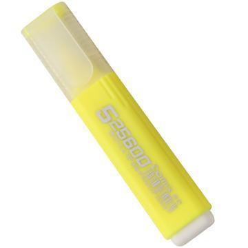 齐心 荧光笔, 醒目,黄,10PCS/盒  HP908 单位:盒