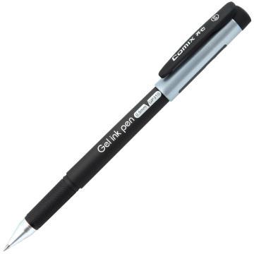 齐心中性笔, 白领,黑,12个/盒  GP310