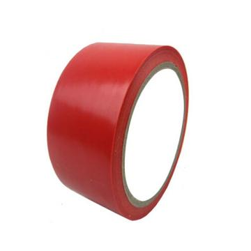 地板警示划线胶带,50mm×33m,0.15mm厚,红色