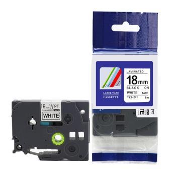 普贴 标签色带,白底黑字KJ-241宽度18mm 适用于锦宫和爱普生标签机 单位:卷